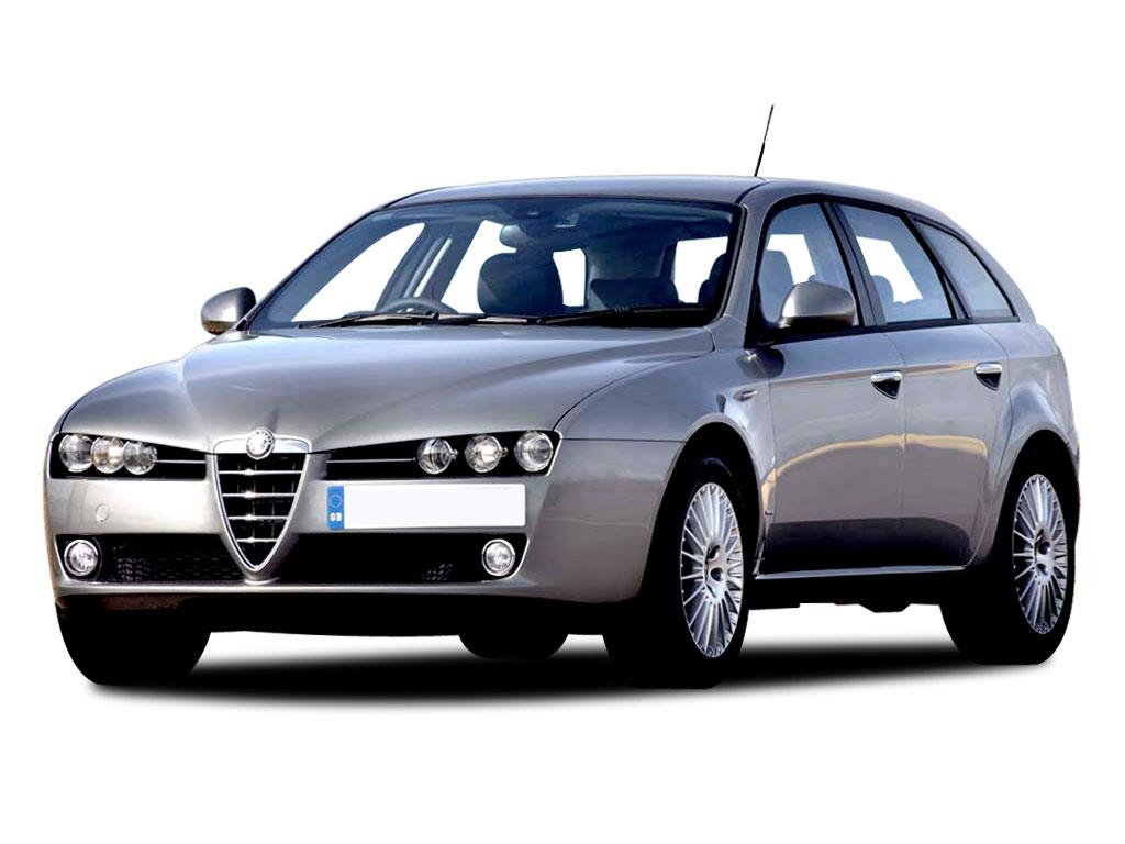 Alfa Romeo 159 Estate, 939 (Exc. Twin exhaust & GTA 250HP) 2006 - 2007