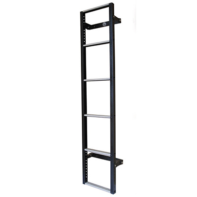 Galvanised 6-step ladder for the Ford Transit from 2000 - 2014