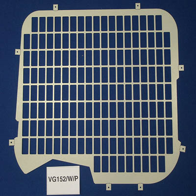 Window Grilles with wiper cut out for the Ford Transit from 2000 - 2014