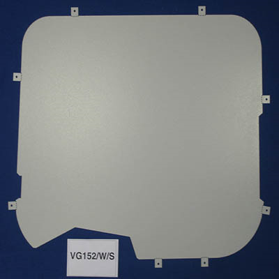 Window Blanks with wiper cut out for the Ford Transit from 2000 - 2014