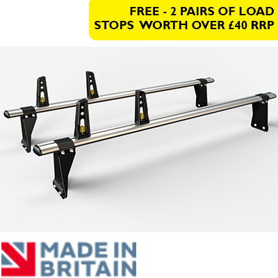 2x HD ULTI Bars - 190mm brackets by Van Guard