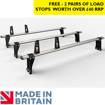 3x HD ULTI Bars - 190mm brackets by Van Guard