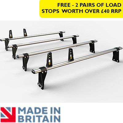 4x HD ULTI Bars - 190mm brackets by Van Guard