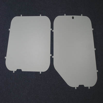 Window Blanks for the Vauxhall Movano from 2010 on