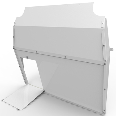 Full Bulkhead solid with load hatch for the Peugeot Partner from 2008 on