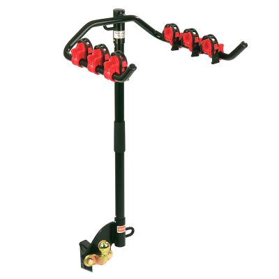 Flange Towbar Mounted Cycle Carrier 3 Bike (with Clamps) for low number plate