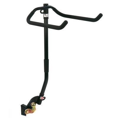 Flange Towbar Mounted Cycle Carrier 3/4 bikes for vehicle with Spare Wheel overhang up to 110mm