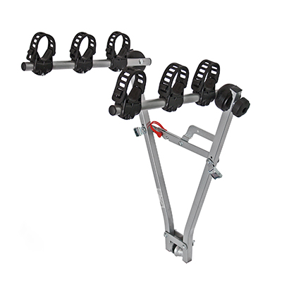 M-Way Typhoon Towball Mounted 3 Bike Cycle Carrier & Cradles
