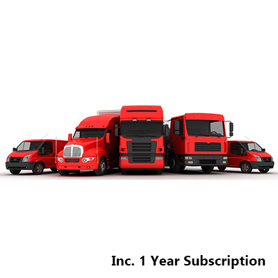 SCORPIONTRACK Stolen vehicle tracking system Fleet inc. 1 year Discounted Subscription