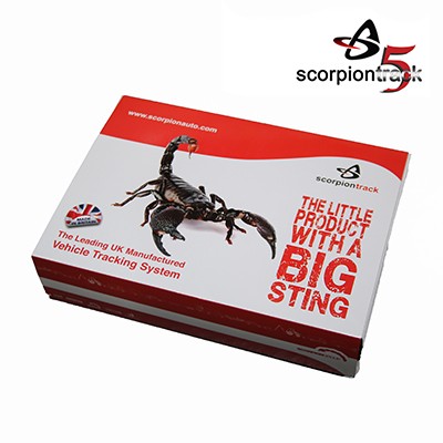 SCORPIONTRACK Stolen vehicle tracking system Category 5