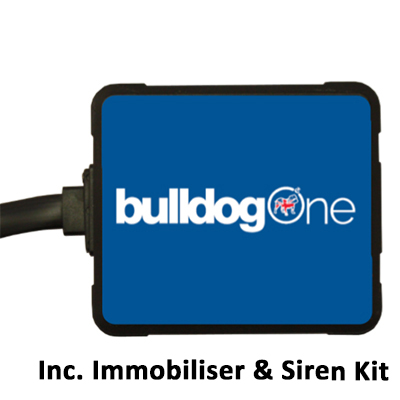 BulldogOne - incl. immobiliser kit & siren for HGVs (24V)