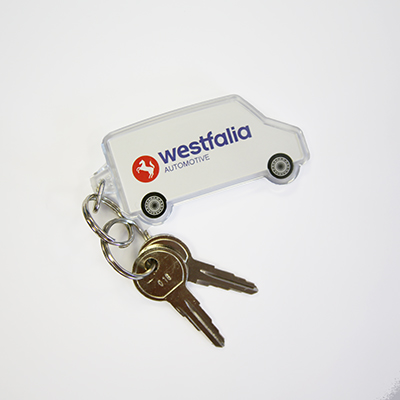 01 Key for the Westfalia Cycle Carriers