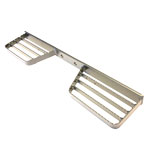 Double Sided Step - (open-tread) zinc plated